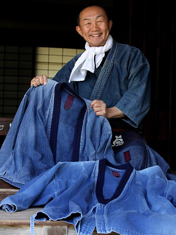 玄照堂作務衣、竹虎四代目(YOSHIHIRO YAMAGISHI)