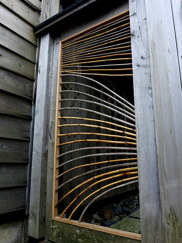 根曲竹の戸