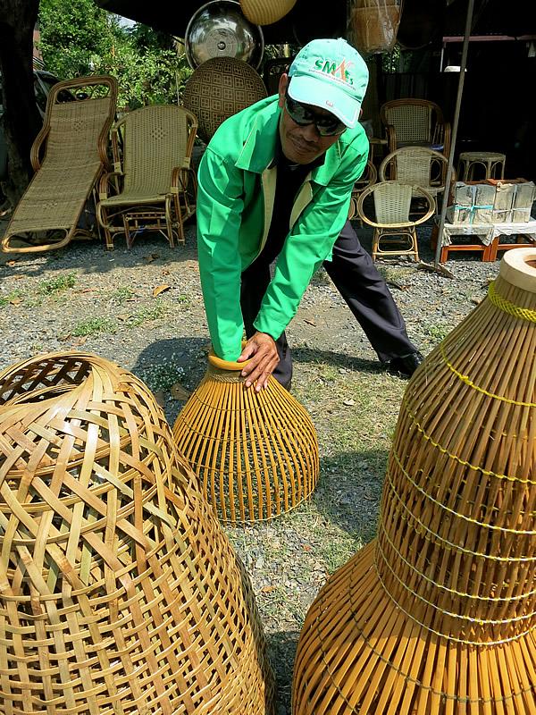 竹製魚獲り道具