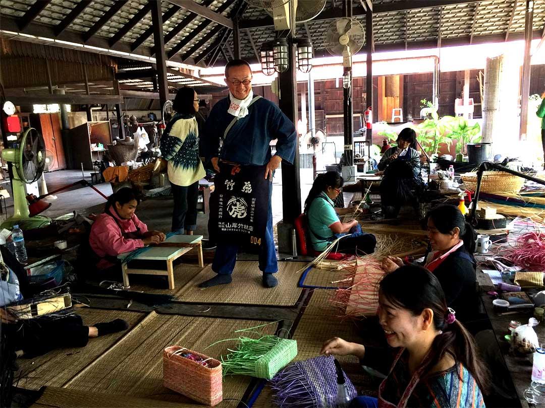 タイの竹工房