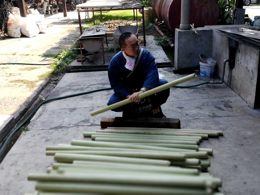 タイの竹材、竹虎四代目