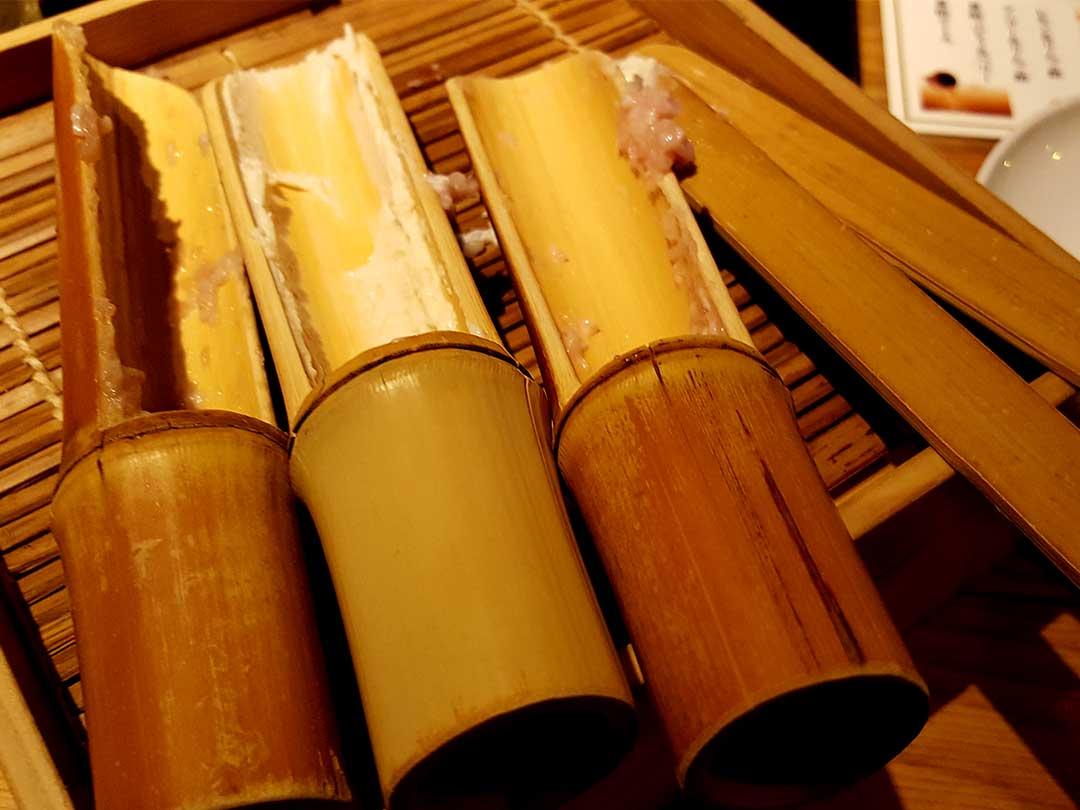 竹ツミレ皿