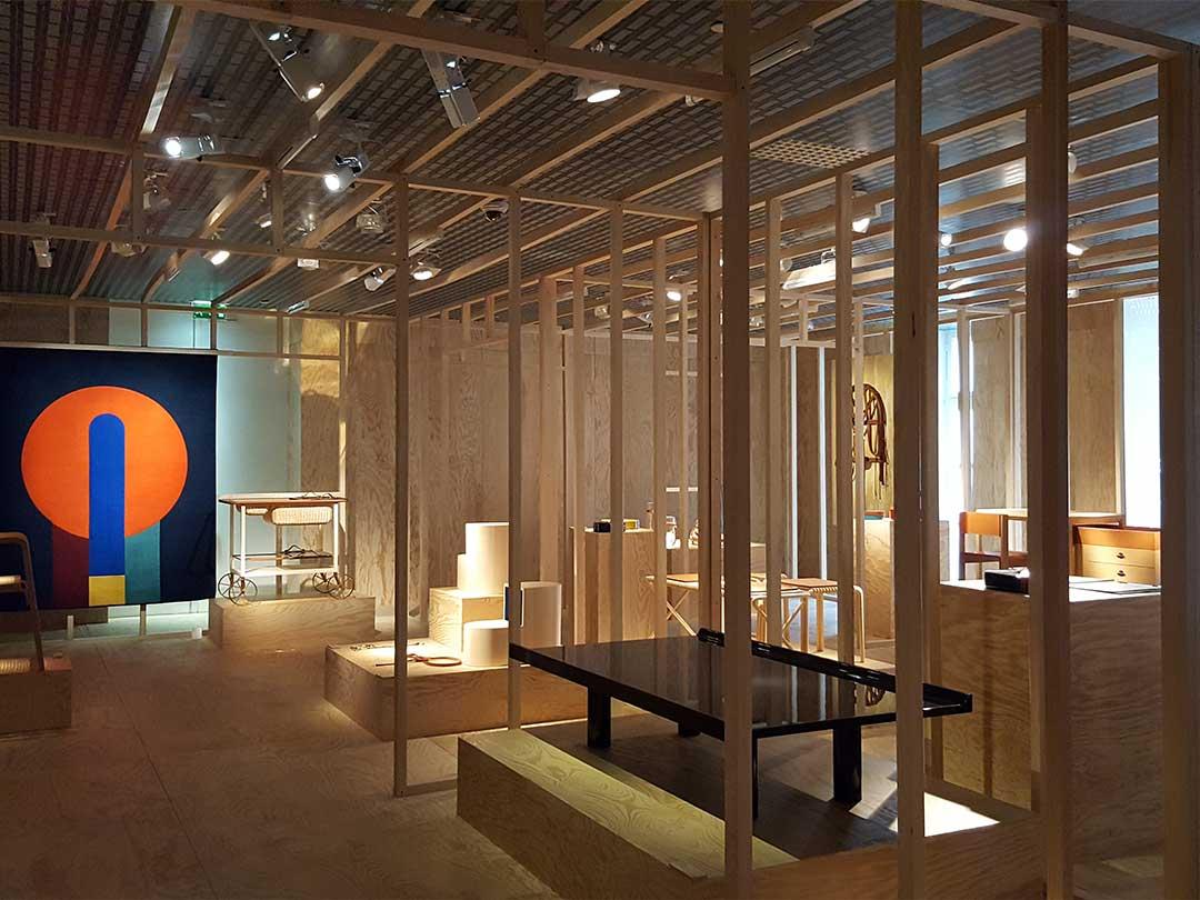 パリ・エルメス(HERMES)展示室