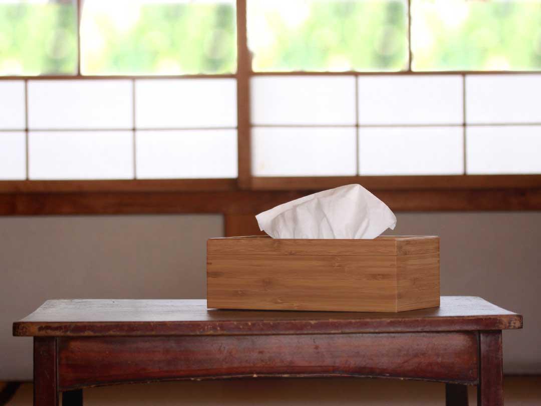 竹ティッシュボックス