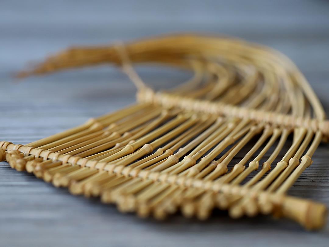 竹小枝の盛皿