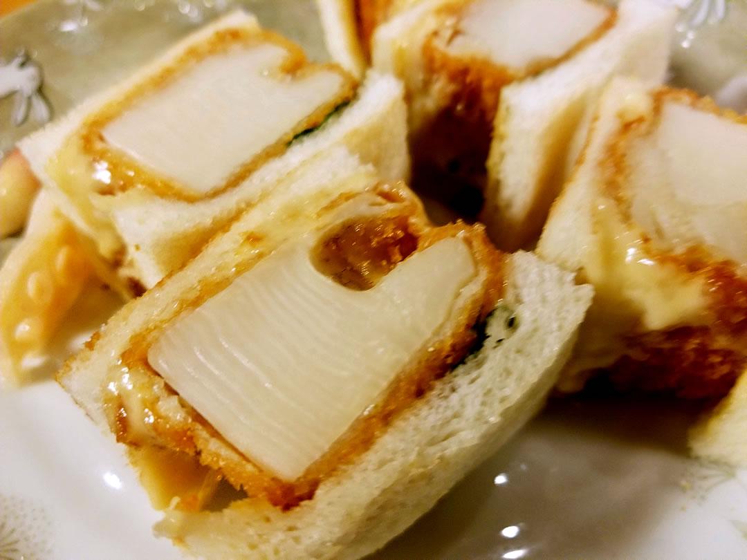 筍サンドイッチ