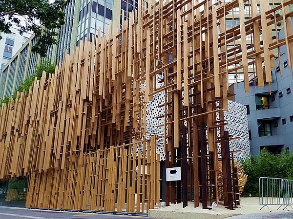 隈研吾、ジャパン・ハウス サンパウロ(JAPAN HOUSE Sao Paulo)