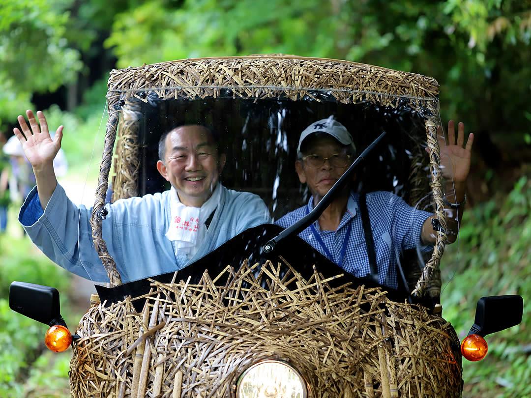 竹トラッカー、台湾からのお客様