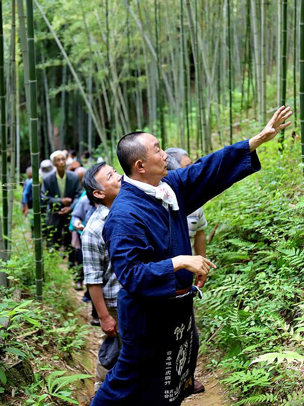 竹虎四代目(山岸義浩、YOSHIHIRO YAMAGISHI)、虎竹の里