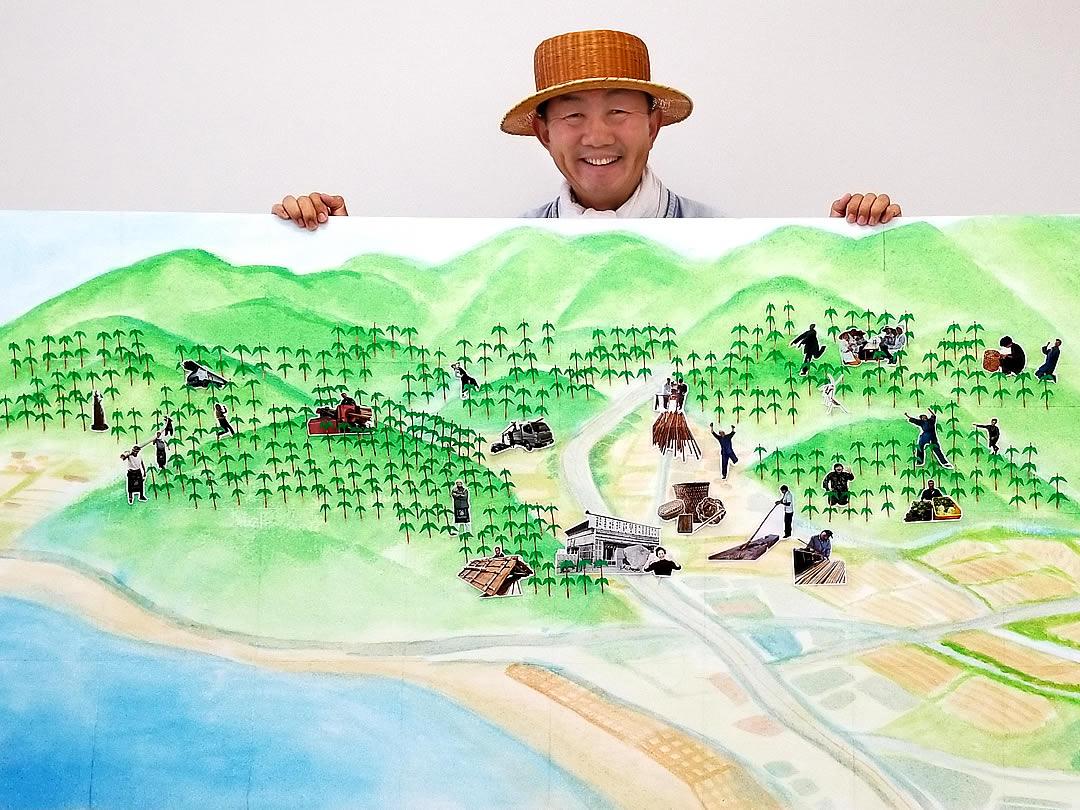 日本唯一虎竹の里、ハゲ山再生計画