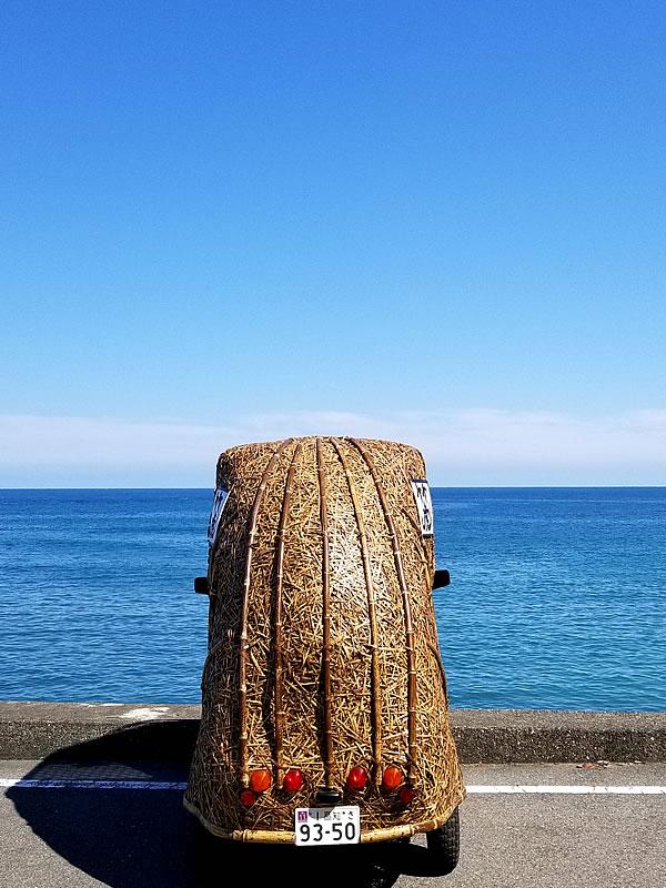 竹トラッカー、大野の浜