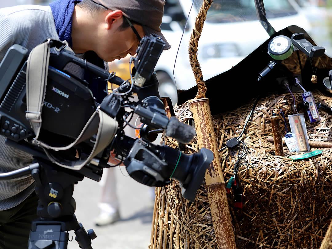 日本唯一の虎竹自動車竹トラッカー取材