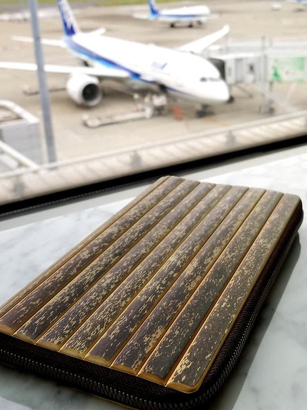 虎竹パスポートケース