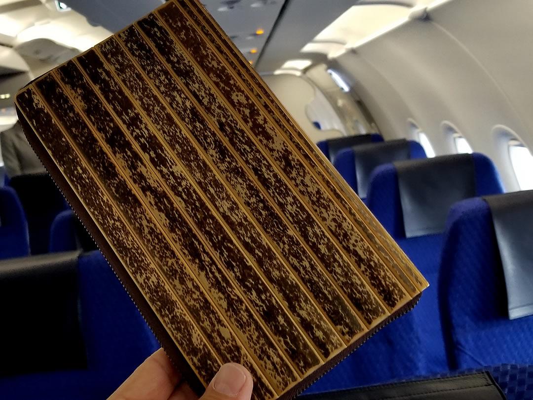虎竹パスポートケース、ANA