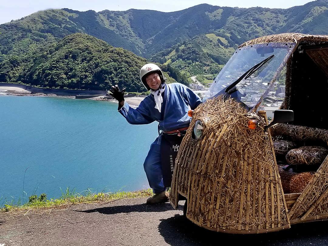 竹トラッカー、竹虎四代目(山岸義浩)