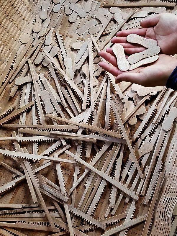 竹のガリガリとんぼ