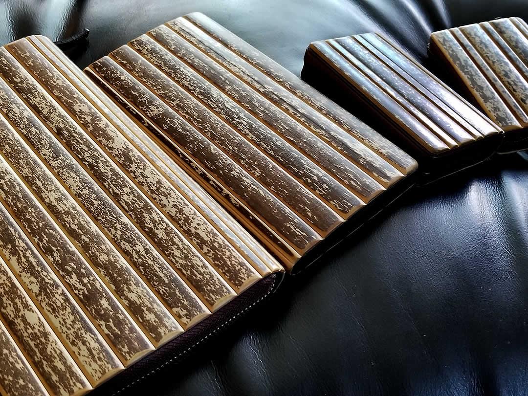 虎竹パスポートケース、虎竹長財布、虎竹名刺入れ、虎竹カード入れ