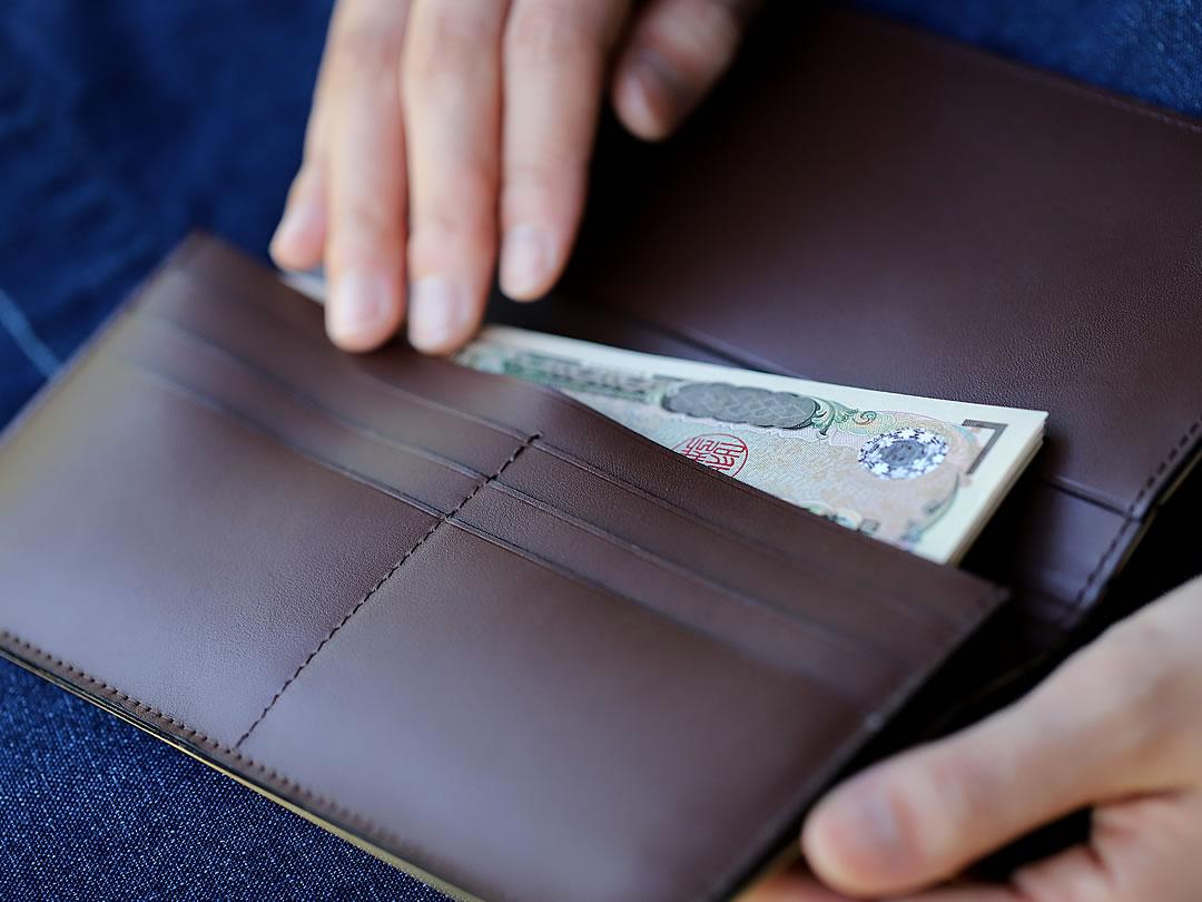 虎竹長財布
