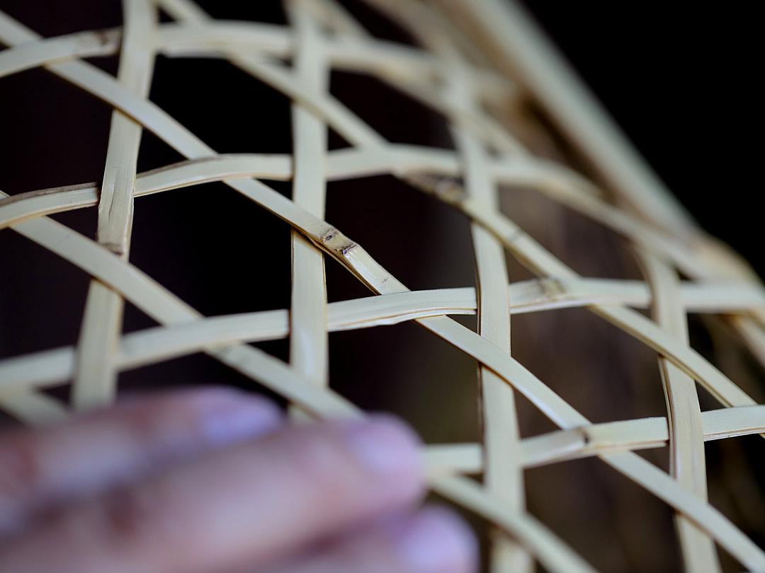白竹ランドリーバスケット
