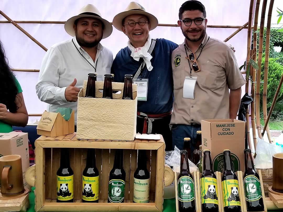 竹ビール、竹テキーラ