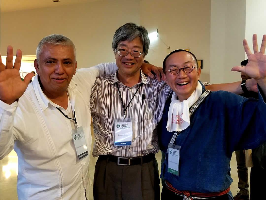 世界竹会議、 World Bamboo Congress、柴田昌三先生、竹虎四代目(山岸義浩)