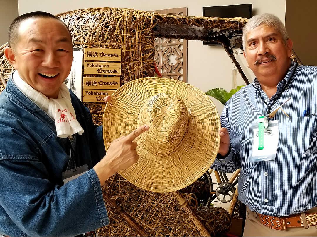 竹カウボーイハット