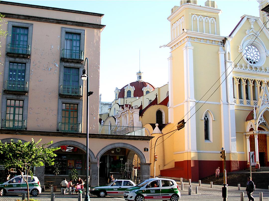 メキシコ、ハラパの街
