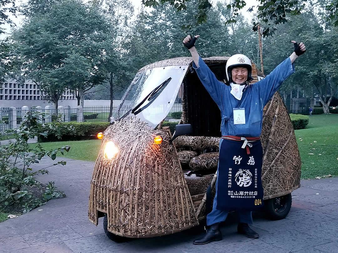 世界竹会議、竹トラッカー、メキシコラン、竹虎四代目(YOSHIHIRO YAMAGISHI)