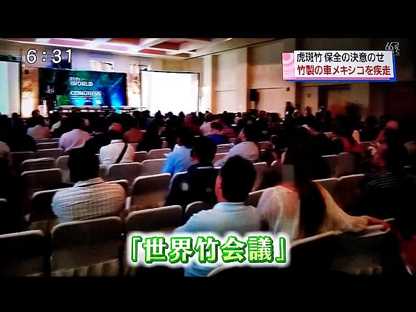 RKC高知放送「こうちeye」世界竹会議メキシコ会場
