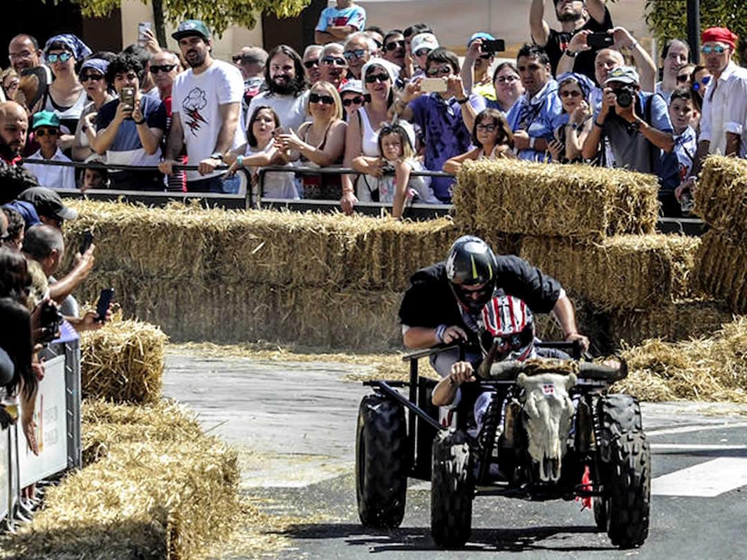 スペイン・ビトリアボックスカートレース(Carrera de Goitiberas de las Fiestas de la Blanca de Vitoria-Gasteiz)
