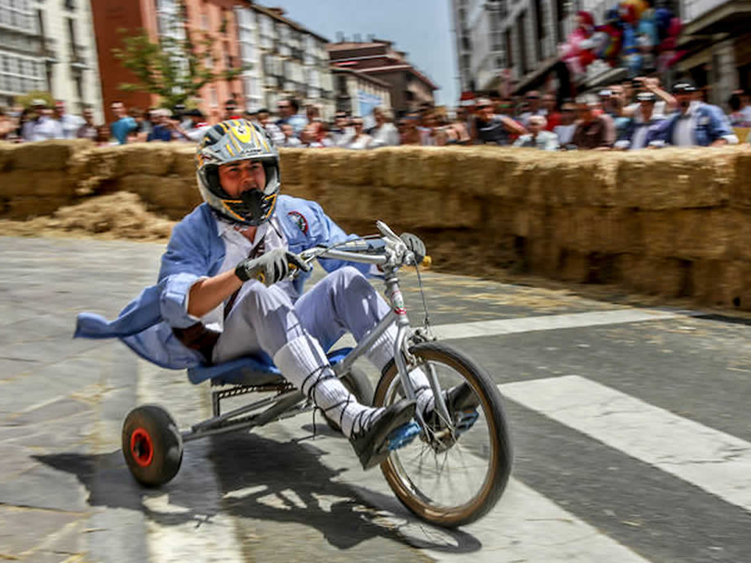 Soapbox race of La Blanca in Vitoria-Gasteiz