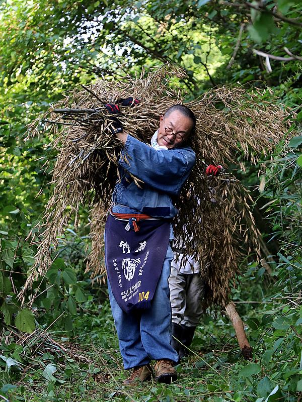 竹虎四代目(山岸義浩、YOSHIHIRO YAMAGISHI)、竹の花