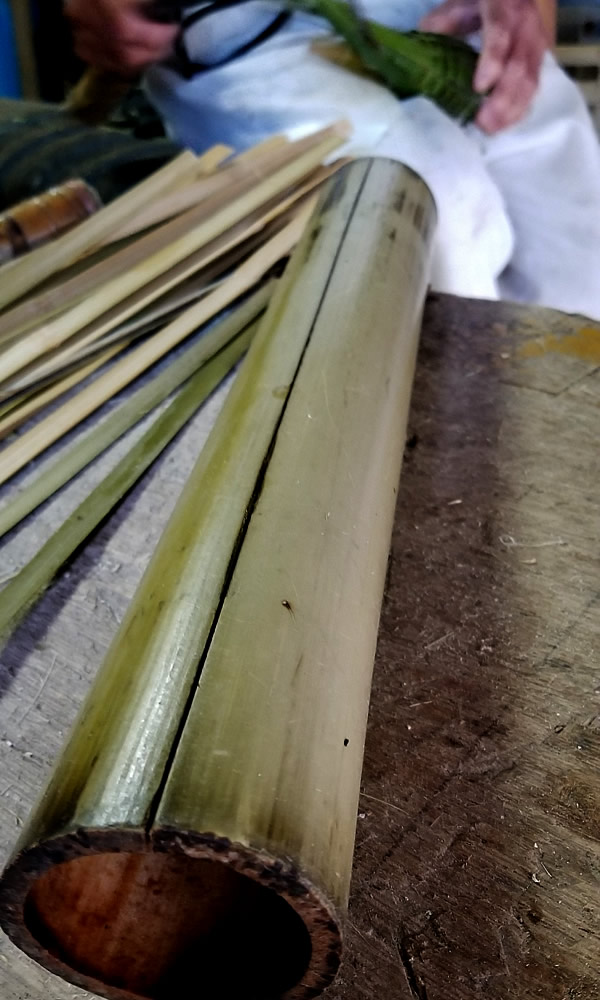 鰻筌の基準竹