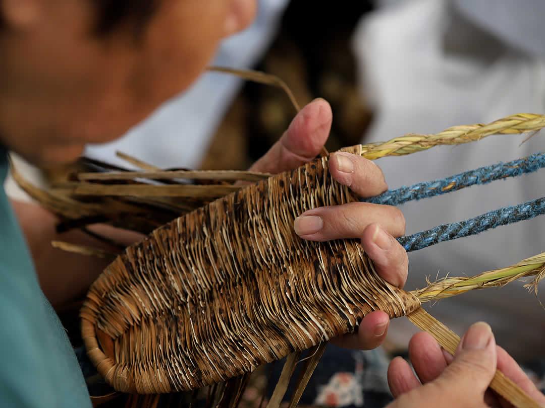 日本製竹皮草履