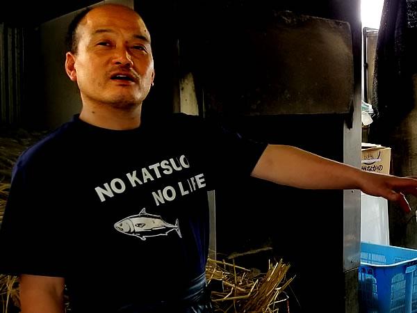 田中鮮魚店の田中隆博さん