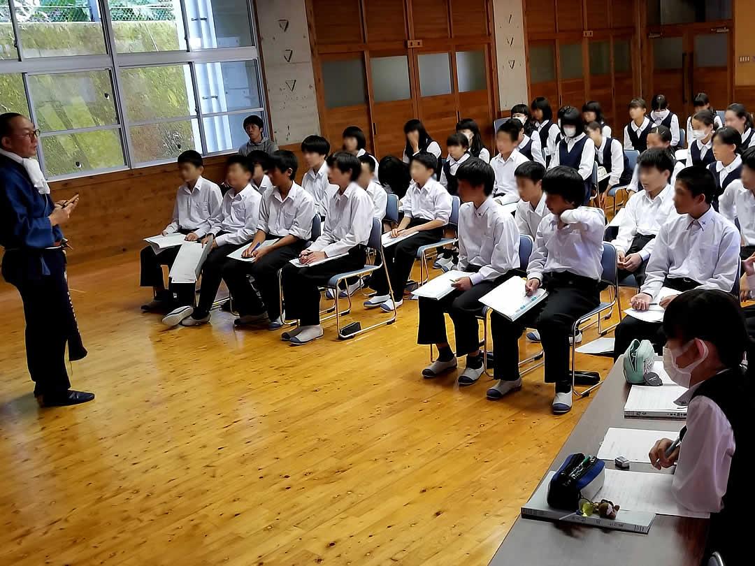 朝ケ丘中学校、総合学習