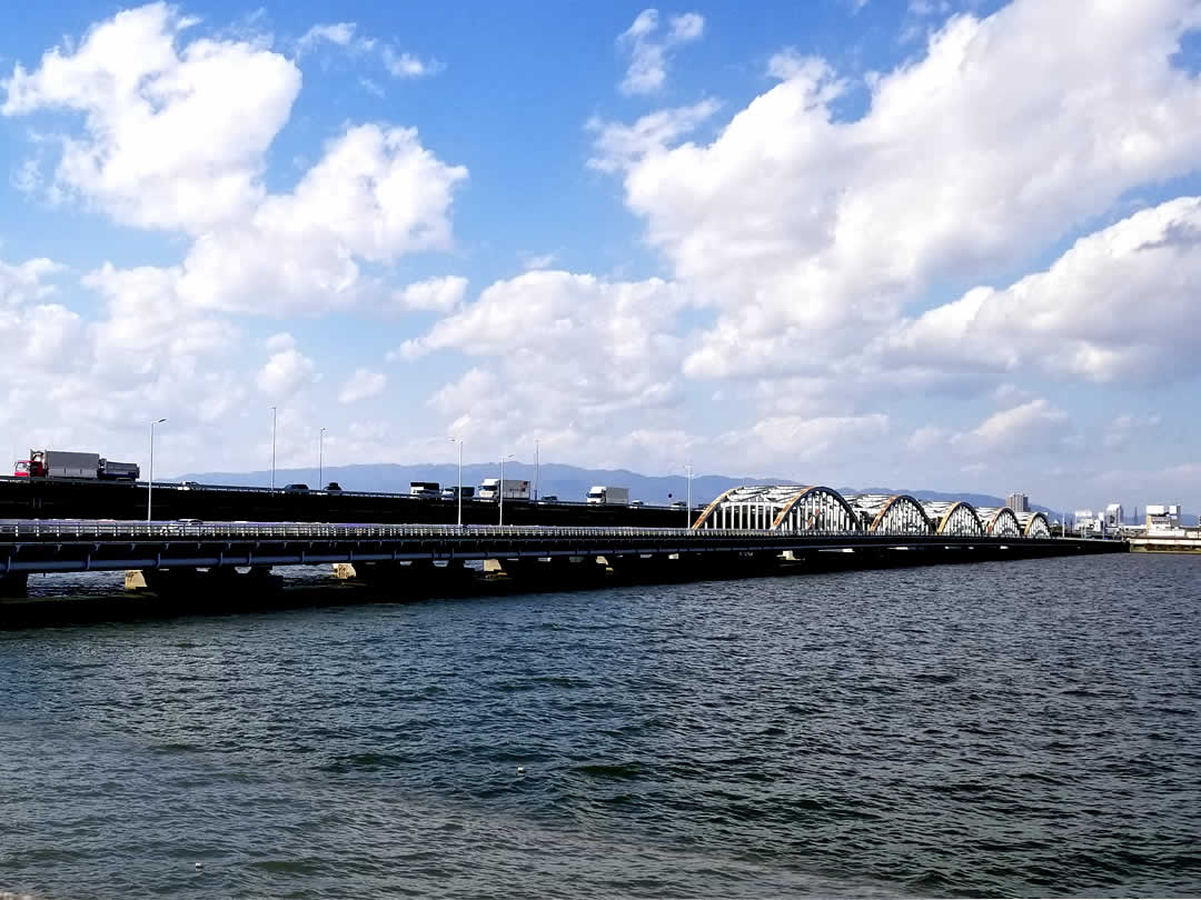 竹トラッカー、淀川