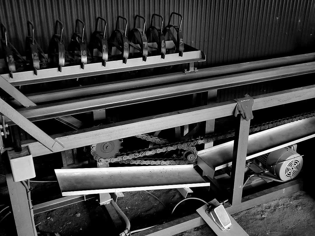 竹加工機械