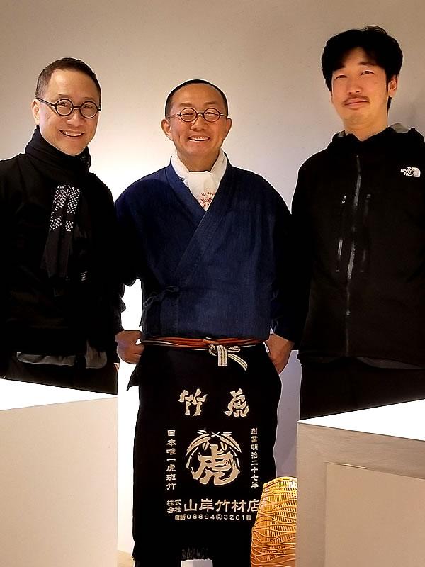 Hideo Kanegae、Alan Chan(陳幼堅)、竹虎四代目(山岸義浩)