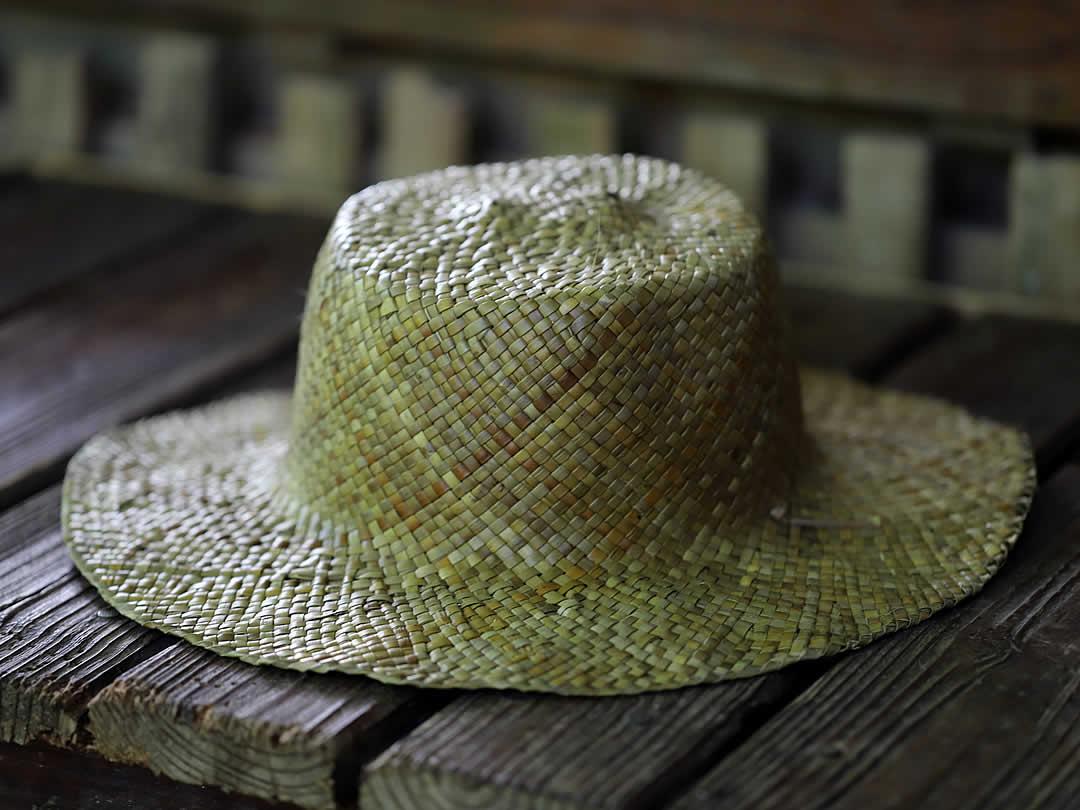 アダン帽子