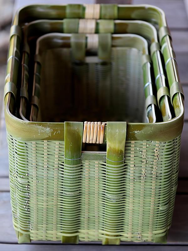 御用籠、竹籠、野菜籠