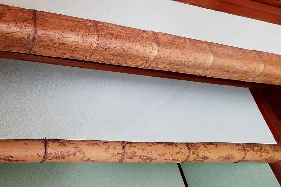 床の間の図面竹