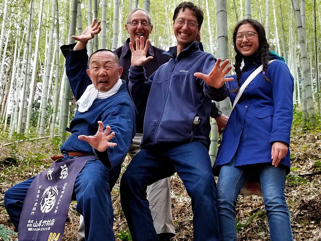 Dain Sansome、YOSHIHIRO YAMAGISHI(竹虎四代目)