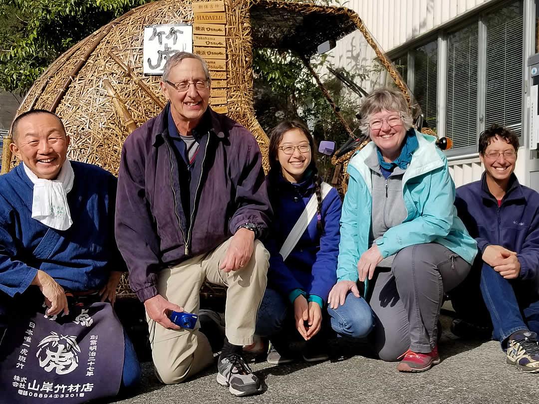 Dain Sansome、YOSHIHIRO YAMAGISHI(竹虎四代目)、竹トラッカー