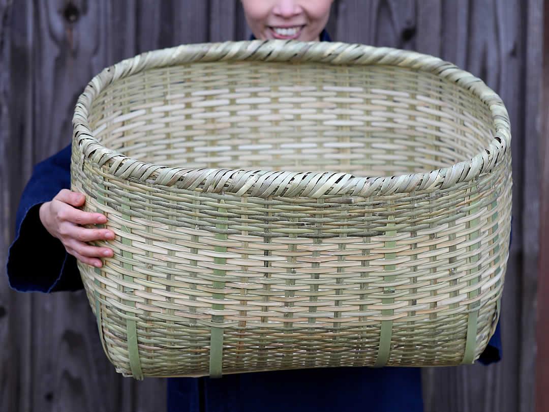 篠竹籠、ぼた籠