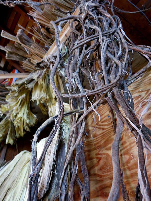藤蔓、トイソ材料
