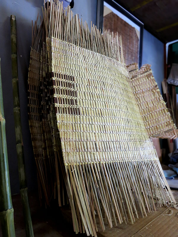 藤箕製造作業場
