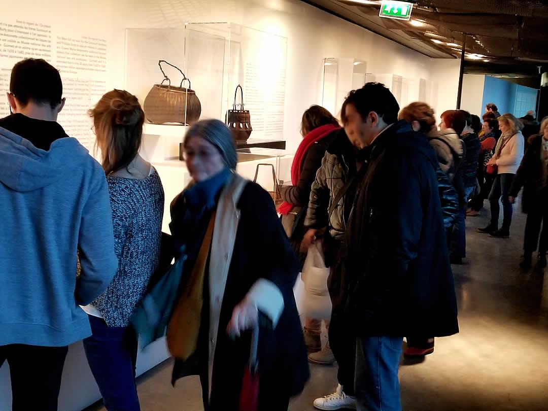 ケ・ブランリ美術館(Musée du quai Branly)日本の竹工芸展