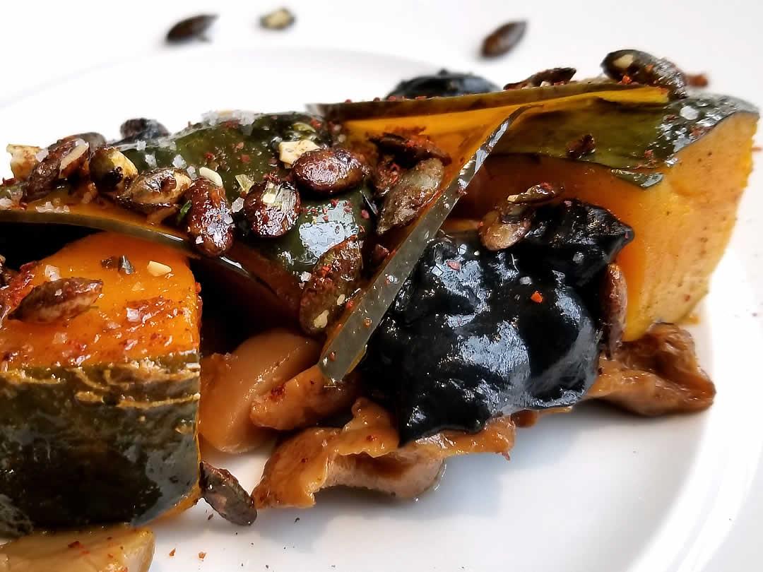 竹炭を使った料理