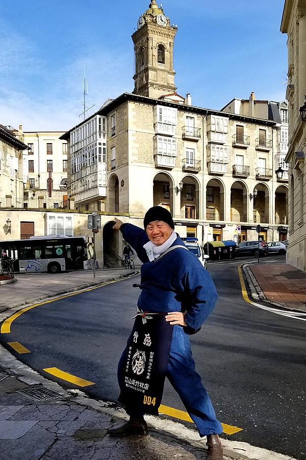 竹虎四代目(山岸義浩)、ビトリアのソープボックスレース(Soapbox race of La Blanca in Vitoria-Gasteiz)